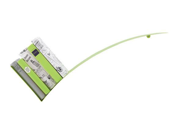 Nástenný Regál Okay - zelená, kov (30/75/18cm) - Mömax modern living