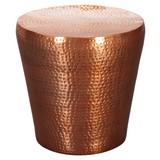Beistelltisch Vikram D: 40cm Kupferfarben - Kupferfarben, LIFESTYLE, Metall (40/41cm) - Carryhome