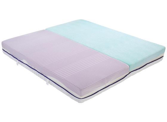 Komfortschaummatratze Ergo Duo 180x200cm H2 - Weiß, Textil (180/200cm) - Primatex