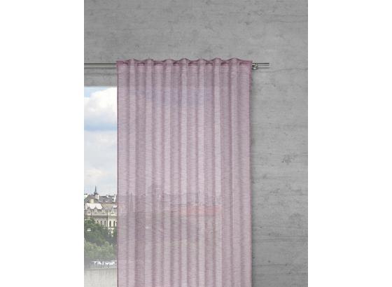 Závěs Sigrid -top- - šeříková, Romantický / Rustikální, textil (140/245cm) - Premium Living