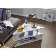 L: ca. 60 cm Weiß Couchtisch - Weiß, MODERN, Holzwerkstoff (60/60/41,5cm) - MID.YOU