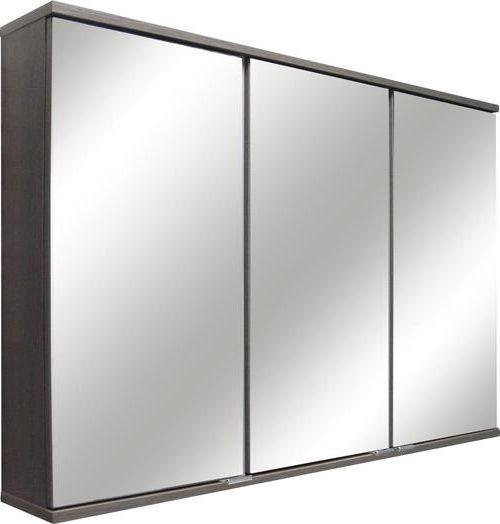 Spiegelschrank mit Türdämpfer + Led Lavella B: 100 cm, Eiche