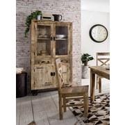 Stuhl 01912-04 - Rustic Naturfarben - Naturfarben, Basics, Holz (45/100/45cm)