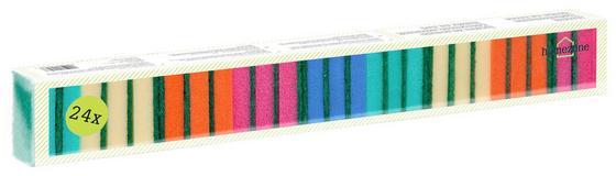 Mosogatószivacs 24 Db/csomag - konvencionális, műanyag (24mm)