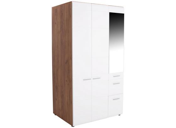 ŠATNÁ SKRIŇA AVENSIS NEW - farby dubu/biela, Konvenčný, kompozitné drevo (120/205,7/60cm) - Luca Bessoni