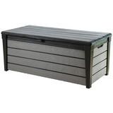 Kissenbox Brushwood 455 L ca. 145/69,7/60,3cm - Anthrazit/Grau, MODERN, Kunststoff (145/69,7/60,3cm)