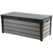 Kissenbox Wasserfest Brushwood 145/70/61 cm 455l, Anthrazit - Anthrazit/Grau, MODERN, Kunststoff (145/69,7/60,3cm)