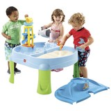 Sand- und Wassertisch Step2 Splash & Scoop Bay - Blau/Multicolor, MODERN, Kunststoff (70/75/70cm)