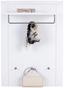 Vorzimmerkombination Bree 5 - Weiß, MODERN, Karton/Holzwerkstoff (255/203/38cm)