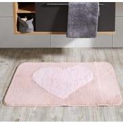 Badteppich Ronny, 60x90cm - Rosa, MODERN, Kunststoff (60/90cm) - Kleine Wolke
