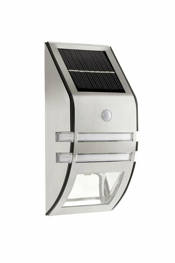 Solarleuchte Frederike - Silberfarben, KONVENTIONELL, Kunststoff/Metall (17/8/5cm) - Homezone