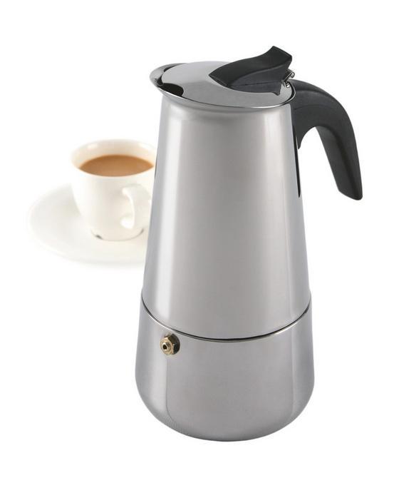 Kotyogós Kávéfőző Vella - alu színű, fém (0,2l)