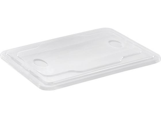 Pokrievka Selina - transparentné, plast