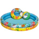 Spielpool Wasserfeunde - Multicolor, Kunststoff (122/20cm) - Bestway