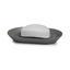 Mýdlenka Lilo - šedá, Moderní, umělá hmota (14,6/9,22/1,90cm) - Mömax modern living