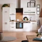 Küchenkombination Luisa - Weiß, MODERN, Holzwerkstoff (280cm)