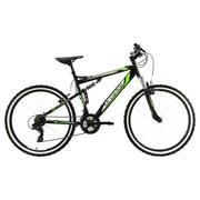 Mountainbike Mtb Fully 26'' Scrawler 569m - Basics, Metall (180/70cm)