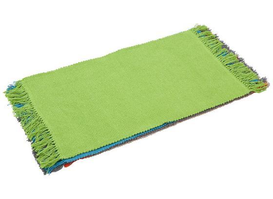 Ágyelő Corner - Világoszöld/Bézs, konvencionális, Textil (40/60cm) - Homezone