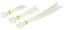 Kabelbinder 75 teilig - Transparent, KONVENTIONELL, Kunststoff