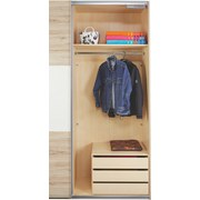 Schubladenset Katrin/New York/Ilona - Grau, Holz/Holzwerkstoff (87/54/42cm)