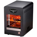 Elektrogrill BBQ Grill 800 2200 W 47x47x47 cm - Anthrazit, Basics, Metall (47/47/47cm)