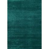 Hochflor Teppich Petrol Roma 160x230 cm - Petrol, MODERN, Textil (160/230cm)