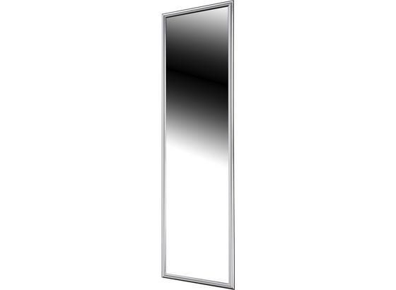Nástenné Zrkadlo Fumo 16040 - strieborná, Moderný, sklo (40/160cm)