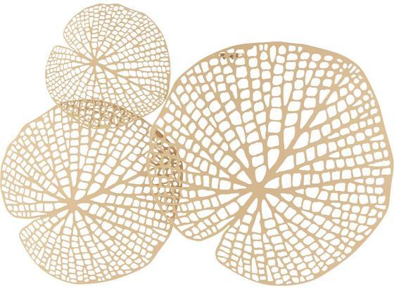 Nástenná Dekorácia Toy - zlatá, Štýlový, kov (64,5/52/2cm) - Mömax modern living