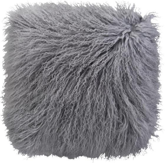 Polštář Ozdobný Shaun - šedá, textil (40/40cm) - PREMIUM LIVING
