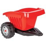 Anhänger Rot für Traktor Strong Bull - Rot/Silberfarben, Basics, Kunststoff (52,7/45,6/35cm)