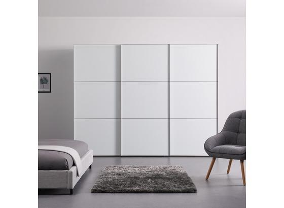 Schwebetürenschrank 280 cm Includo - Weiß, MODERN, Holzwerkstoff (280/222/68cm)