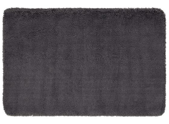 Badematte Asima - Anthrazit, MODERN, Textil (70/120cm) - Luca Bessoni