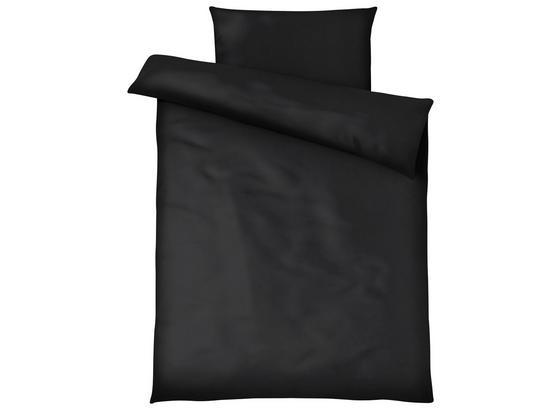 Posteľná Bielizeň Blacky - čierna, Moderný, textil (140/200cm) - Modern Living
