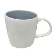 Kaffeebecher Eugenia ca. 300ml - Weiß/Grau, KONVENTIONELL, Keramik (9,5/9,5cm) - James Wood