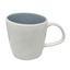 Kaffeebecher Eugenia - Weiß/Grau, KONVENTIONELL, Keramik (9,5/9,5cm) - James Wood