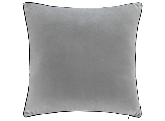 Vankúš Valska 45x45cm Svetlá Šedá - svetlosivá, Moderný, textil (45/45cm) - Mömax modern living