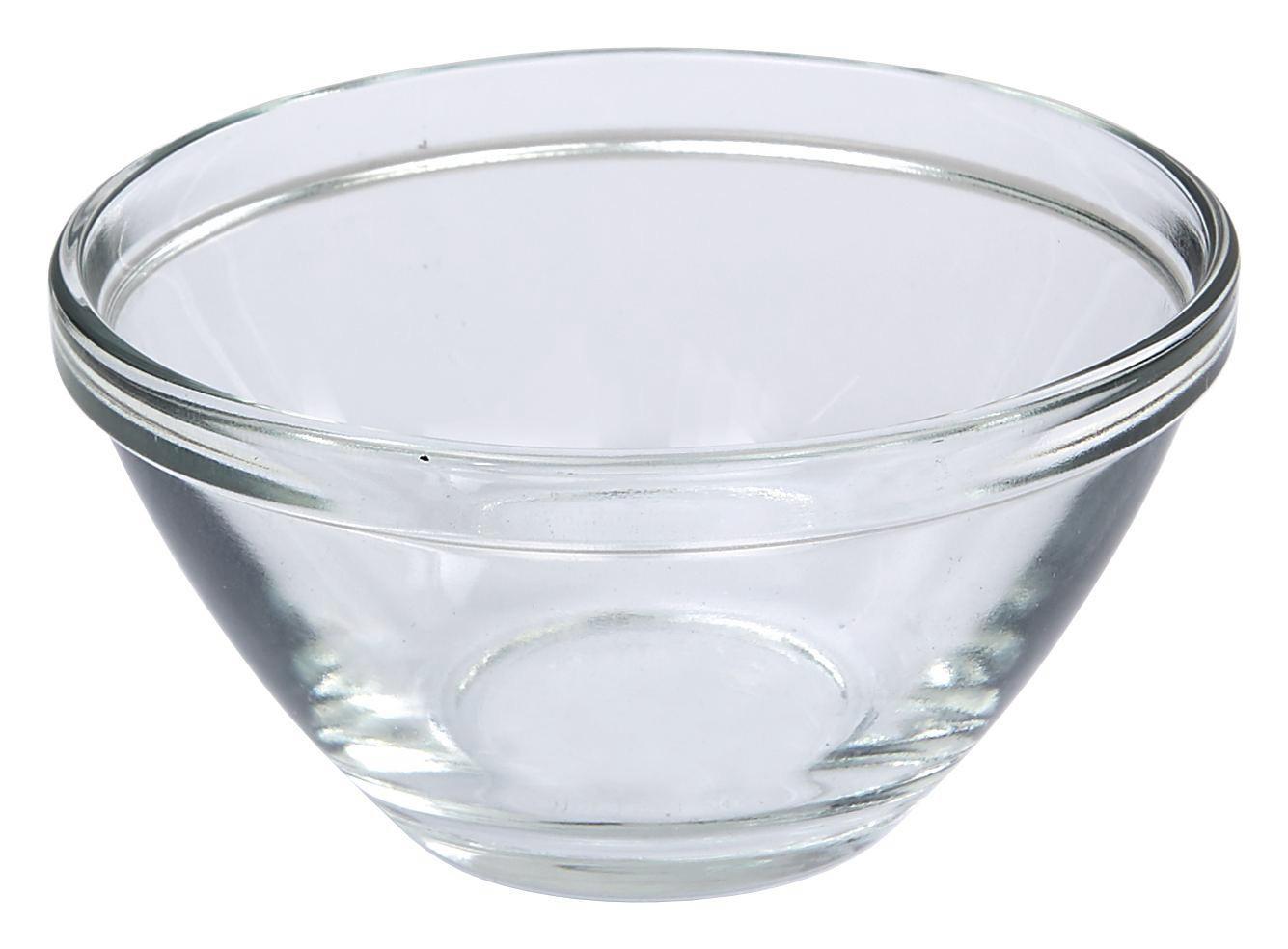 Tál Jennifer - tiszta, konvencionális, üveg (4,1/8cm)