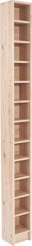Regál Na Cd Felix - farby dubu, Moderný, drevený materiál (20/201,8/16,5cm) - Sonne