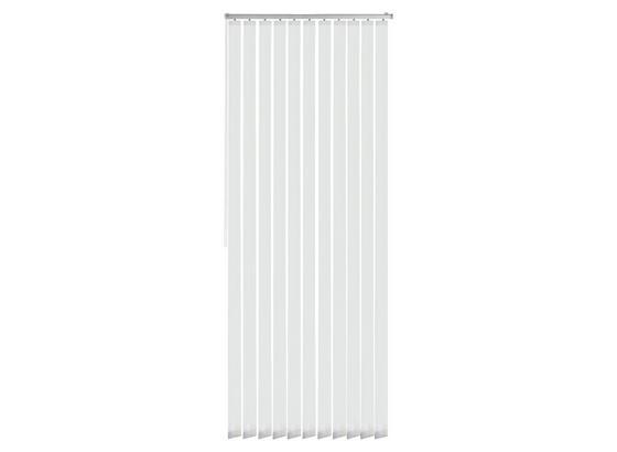 Vertikallamellen Tara - Weiß, MODERN, Textil (100/250cm) - Luca Bessoni