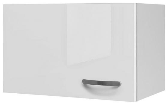 Kuchyňská Horní Skříňka Alba  Kh 60 - bílá, Moderní, dřevěný materiál (60/32/32cm)