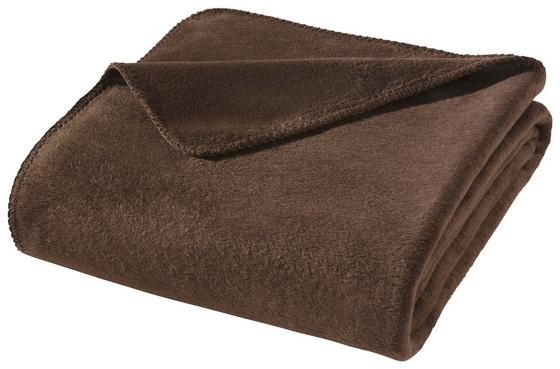 Wohndecke Hani 150x200 cm - Braun, MODERN, Textil (150/200cm)