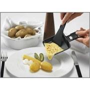 Raclettepfännchen 2 Stück - Schwarz, MODERN, Kunststoff (8,2/10cm)