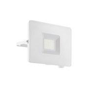 LED-Außenleuchte Faedo 3 Weiss - Weiß, Basics, Glas/Metall (17,5cm)