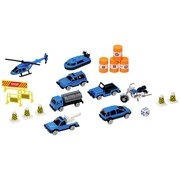 Spielzeugauto Polizei - Blau/Gelb, Basics, Kunststoff/Metall (56,5/11,5/18cm)