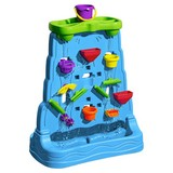 Sand- und Wasserspielwand Waterfall Discovery Wall - Multicolor, MODERN, Kunststoff (71,1/41,3/84,5cm)