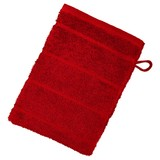 Waschlappen Liliane - Bordeaux, KONVENTIONELL, Textil (16/21cm) - Ombra