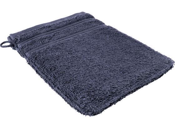 Rukavica Na Umývanie Melanie - tmavomodrá, textil (16/21cm) - Mömax modern living