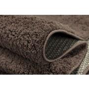 Hochflorteppich Nobel Micro 60/180 - Braun, MODERN, Textil (60/180cm)