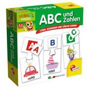 Lernspiel Abc und Zahlen - Multicolor, Karton (18/18/6cm)