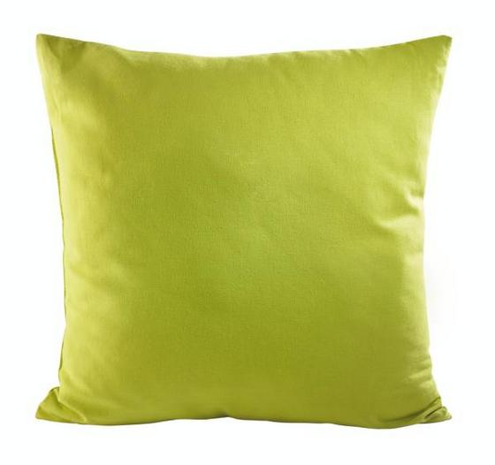 Polštář Ozdobný Zippmex  -based-top- - zelená, textil (50/50cm) - Based